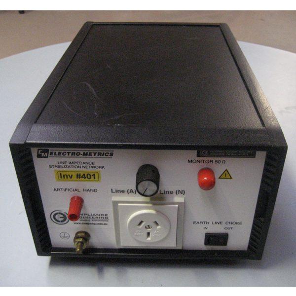 Electro-Metrics 50µH LISN (single phase)