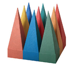 POLYURETHANE BASED SOLID PYRAMID ABSORBER SERIES